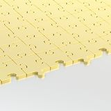 Surface half-covered with the puzzles Royalty Free Stock Image