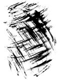 Surface with ink blotches Royalty Free Stock Photo