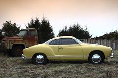 Surface intérieure brute 69 de VW Karmann Images libres de droits