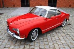 Surface intérieure brute 70 de VW Karmann Image libre de droits