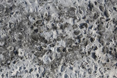 The surface of iron-concrete Royalty Free Stock Images