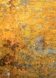 Surface jaune chaude Photographie stock libre de droits