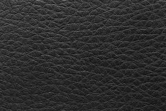 surface of the leather black vintage background. Royalty Free Stock Photo