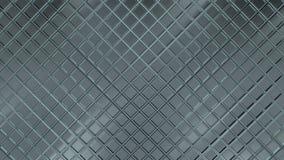 Surface métallique de modèle de losange 3D a rendu le fond réfléchi de texture illustration de vecteur