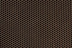 Surface métallique en tant que modèle de texture de fond Photographie stock libre de droits