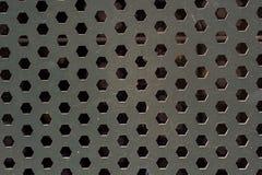 Surface métallique en tant que modèle de texture de fond Photo libre de droits