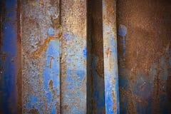 Surface métallique grunge Photos libres de droits