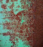 Surface métallique oxydée Photo libre de droits