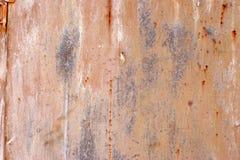 Surface métallique peinte Photos stock