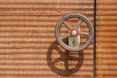 Surface métallique rouillée Images stock