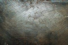 Surface métallique texturisée avec des traces de la corrosion image libre de droits