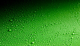 Surface made from close up view of dew drops Royalty Free Stock Image