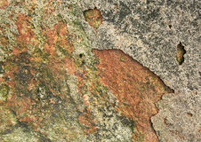 Surface of the marble with brown tint Royalty Free Stock Images