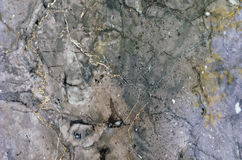 Surface of the marble stone treated Stock Images