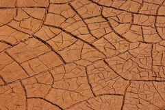 Surface of mars. Royalty Free Stock Images