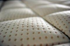 Surface Of Mattress. Close up of surface mattress Royalty Free Stock Photos