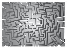 Surface maze Royalty Free Stock Image
