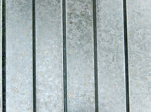 Surface of metal covered with zinc Royalty Free Stock Photo