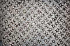 Surface metal deck beneath our feet Royalty Free Stock Image