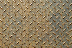 Surface of a metal plate Stock Photo