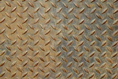 Surface of a metal plate Royalty Free Stock Photography