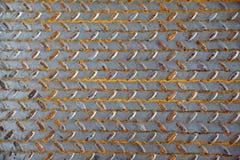 The surface of a metal sheet Stock Photos