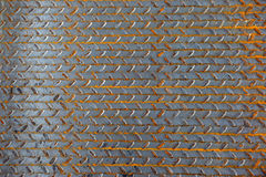 The surface of a metal sheet Royalty Free Stock Photos