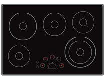 Electric Cooktop Stock Images