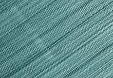 Surface modifiée la tonalité cyan de tapis de paille Images libres de droits