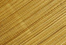 Surface modifiée la tonalité orange de tapis de paille Photographie stock