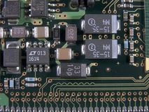 Surface Mount Components Stock Images