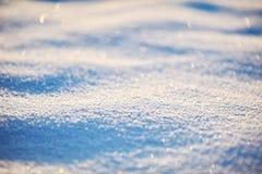 Surface närbild för Snow arkivbild