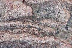 Surface of natural  dark red stone Stock Photo