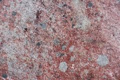 Surface of natural  red and gray stone Stock Photo