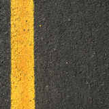 Surface a new asphalt road way Royalty Free Stock Photos