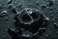 Surface noire Image stock