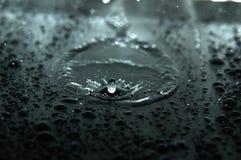 Surface noire Image libre de droits
