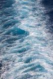 Watery Wake Royalty Free Stock Image