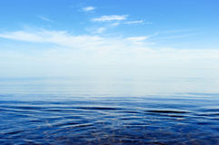 Surface of the ocean Royalty Free Stock Images