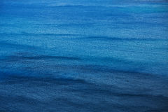 Surface of the ocean with small waves Stock Photo