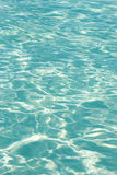 The surface of the ocean water with the reflections Royalty Free Stock Photo