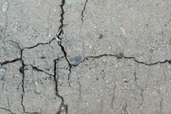 Surface of old asphalt Royalty Free Stock Photos