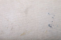 Surface of old dirty cloth for textured background. Focus on the Royalty Free Stock Image