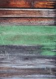Surface of the old painted wood stock photos