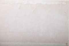 Surface of old paper for textured background. Focus on the centr Royalty Free Stock Image