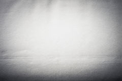 Surface of old paper for textured background. Focus on the centr Stock Image