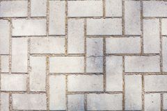 Surface Of Old Plastered Floor With White Geometrical Architecture Symmetrical bricks Or Diaper Repeated Pattern Vertical Backgrou Royalty Free Stock Images
