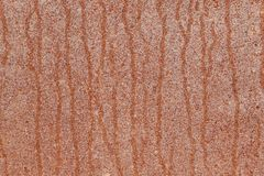 The surface of old, rusty sheet metal with vertical drips. royalty free stock photos
