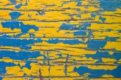 Surface of old wood Paint Stock Photography