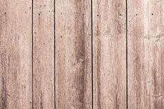 Surface of old wooden boards brown color Stock Photo